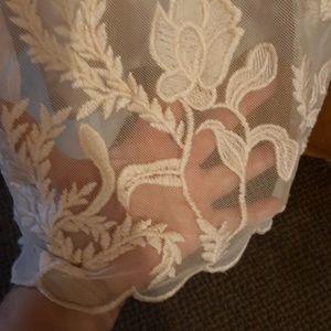 Forever 21 Dresses - Light pink Forever 21 lace dress